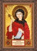 Набор для вышивки бисером Святая Маргарита