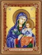 Набор для вышивки бисером Богородица Неувядаемый цвет