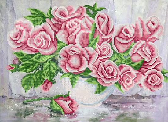 Схемы вышивки чайные розы