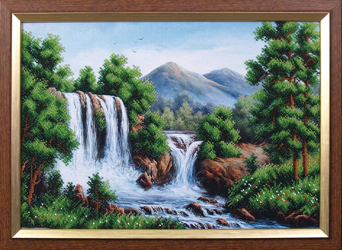 Купить набор для вышивки водопад