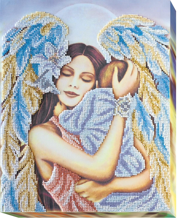 Любовь матери вышивка бисером