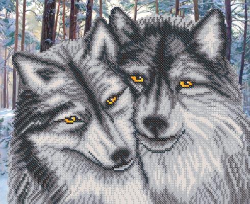 Вышивка волков отзывы