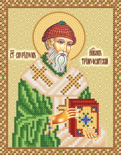 Вышивка бисером икона спиридона тримифунтского