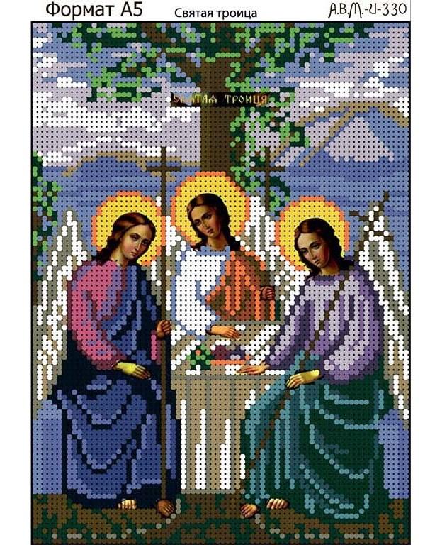 Схема вышивки троица крестом