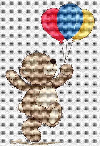 Схема медвежонок бруно