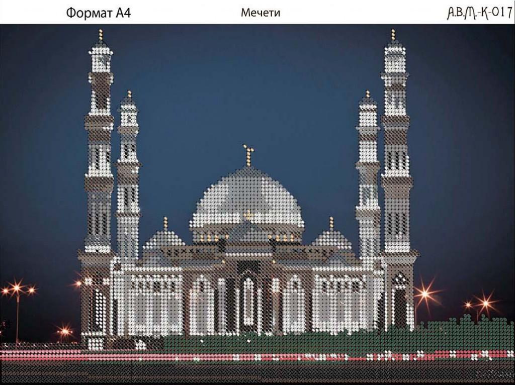 Вышивка бисером мечети схемы