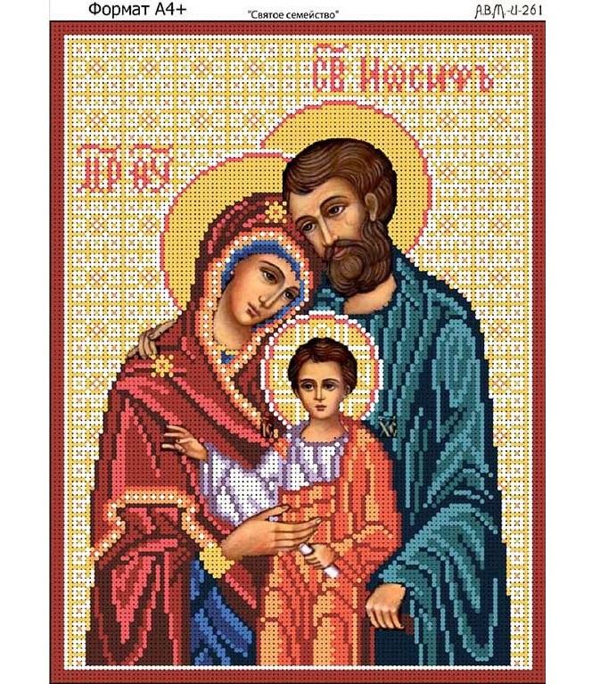Схема вышивки святое семейство