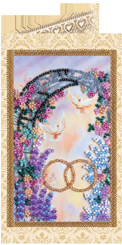 Поздравлением, вышивка бисером открытки