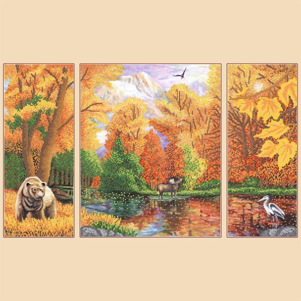 Триптих схема вышивки бисером купить фото 436
