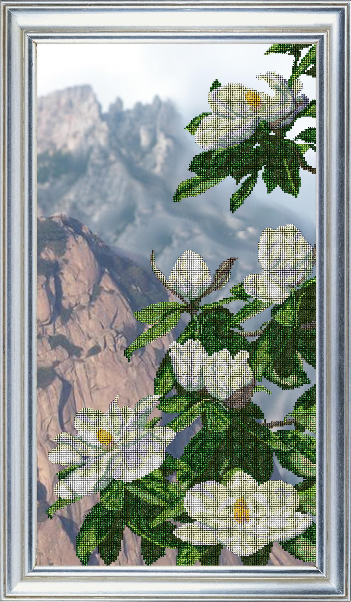 Триптих схема вышивки бисером купить фото 452