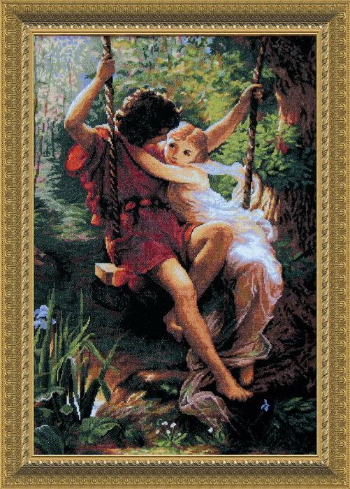 Наборы вышивки крестом влюбленные