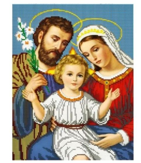 Иконы святое семейство вышивка бисером