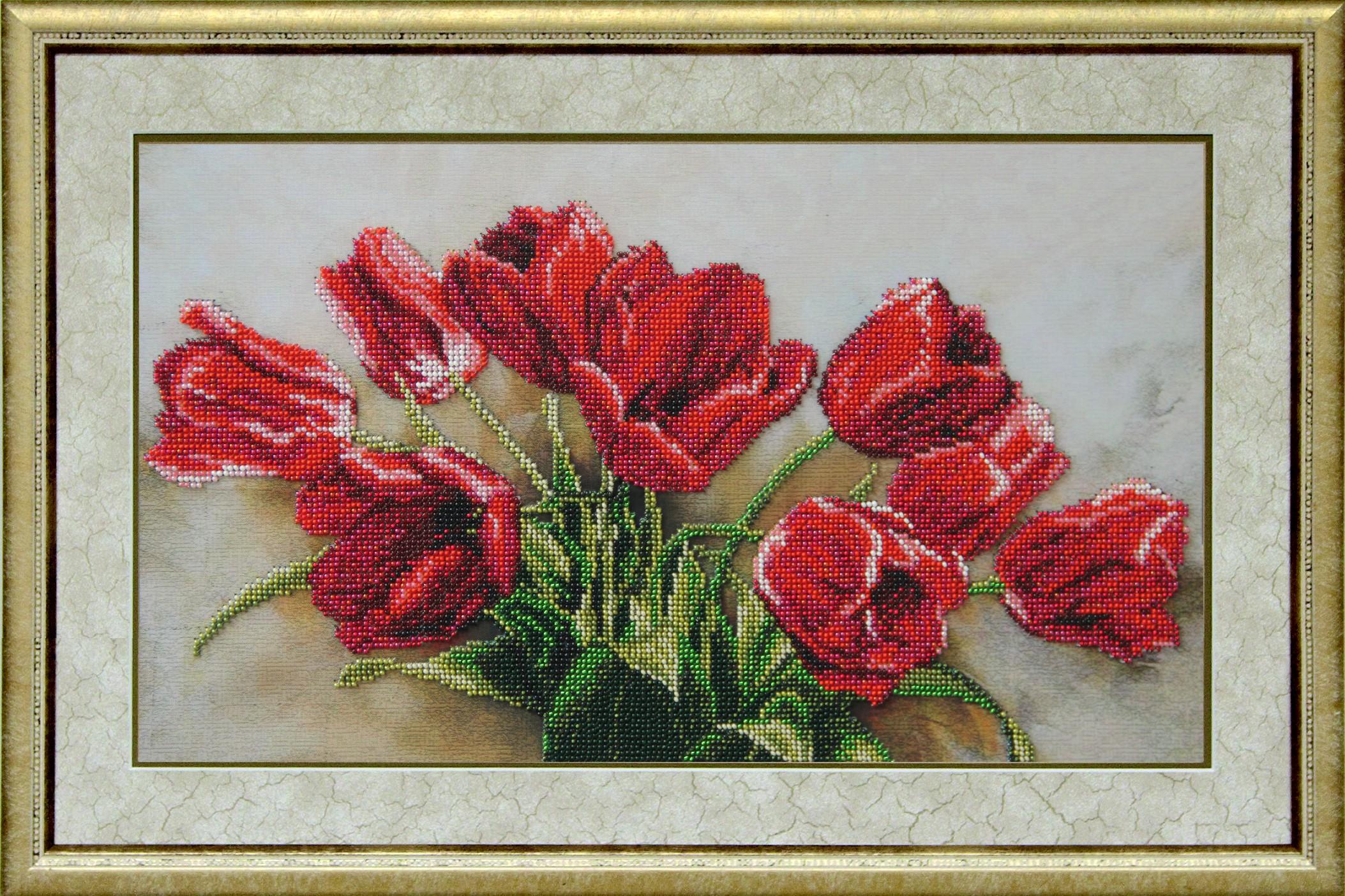 Бисер вышивка цветы в Беларуси. Сравнить цены, купить потребительские