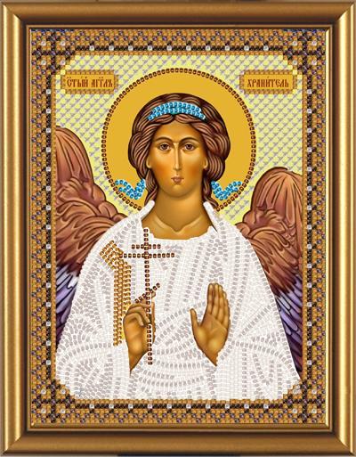 Вышивка бисером ангел хранитель иконы