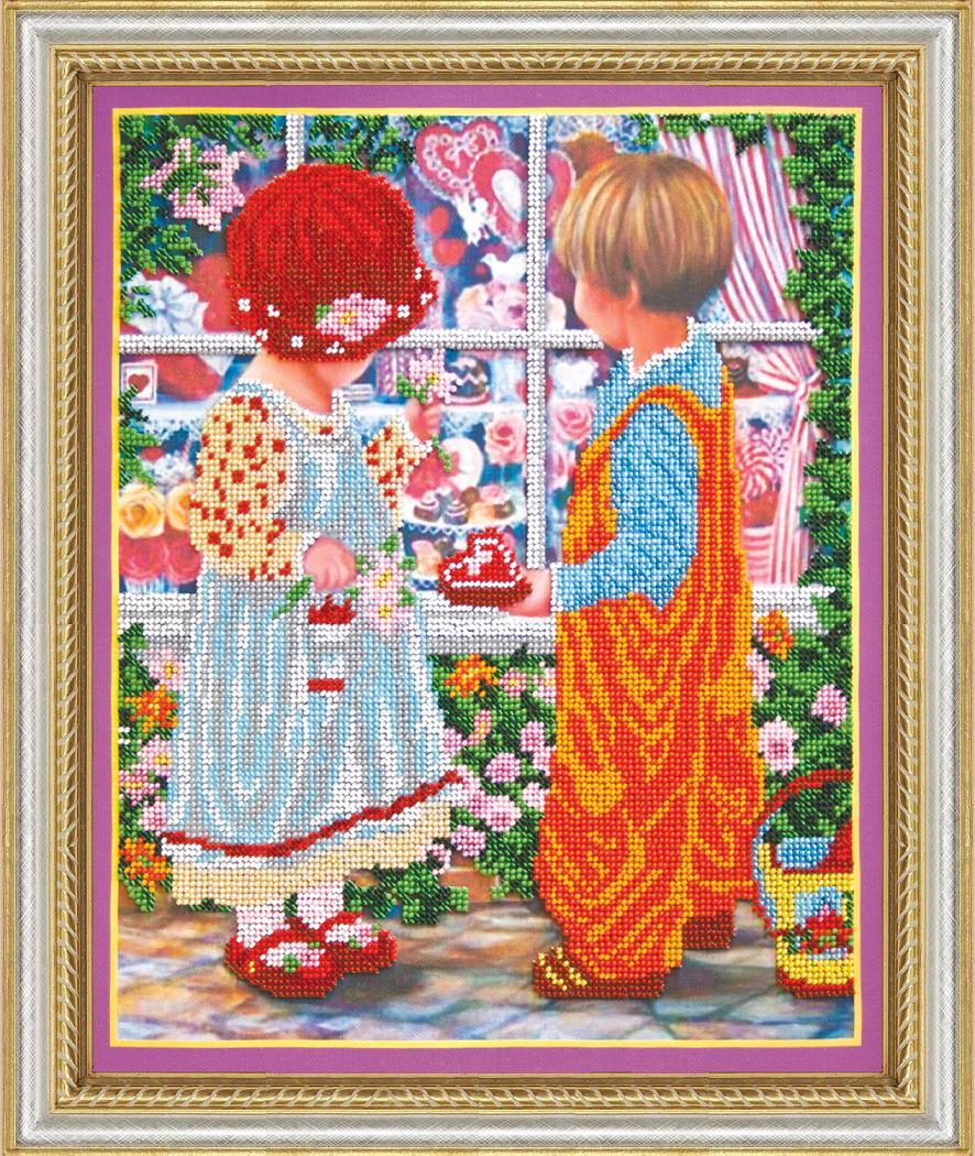 Первая любовь вышивка бисером