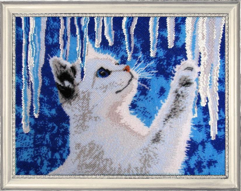 Наборы вышивки бисером животных
