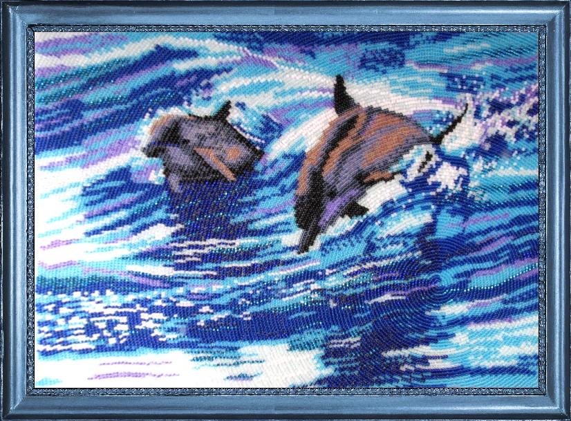 Набор для вышивки дельфин