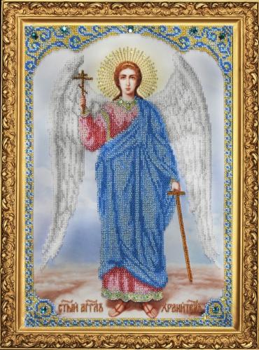 Набор вышивка ангела хранителя бисером