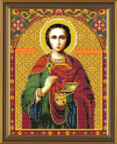 Вышивка бисером икона пантелеймон