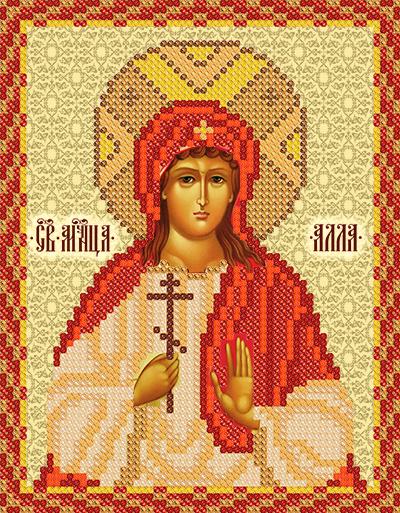 Схема вышивки крестом алла