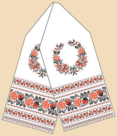 Ткань для вышивки рушника купить
