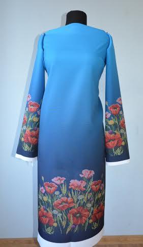 Вышивка бисером платья рисунки