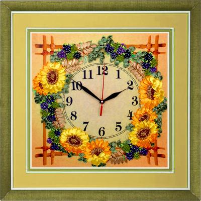 Набор для вышивки бисером часы