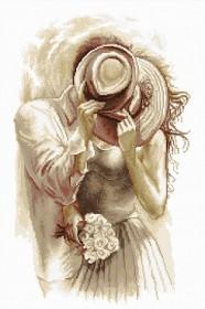 Набор для вышивки крестом Шляпа к шляпе