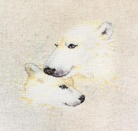 Набор для вышивки крестом Медведи