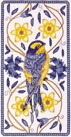Набор для вышивки крестом Птичка 1
