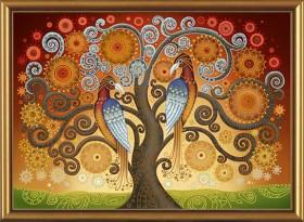 Набор для вышивки бисером Огонь любви, , 521.00грн., ДК1058, Новая Слобода (Нова слобода), Наборы с пришивными камнями