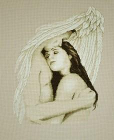Набор для вышивки крестом Мой ангел