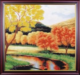Набор для вышивки бисером Задумчивая осень