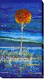 Набор для вышивки бисером Огненная лазурь 1, , 476.00грн., АВ-485, Абрис Арт, Картины из нескольких частей
