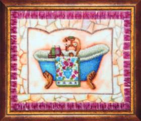 Набор для вышивки бисером Купание, , 481.00грн., Б-706, Чарiвна мить (Чаривна мить), Детские наборы для вышивки бисером и крестом