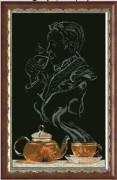 Набор для вышивки крестом Чайная фантазия - он 1