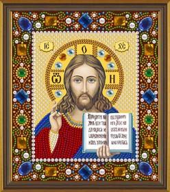 Набор для вышивки бисером Христос Спаситель, , 130.00грн., Д6024, Новая Слобода (Нова слобода), Наборы с пришивными камнями