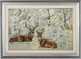 Набор для вышивки бисером Зимнее кружево, , 1 102.00грн., 20712, Краса и творчiсть, Большие наборы