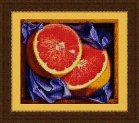 Набор для вышивки крестом Грейпфрут