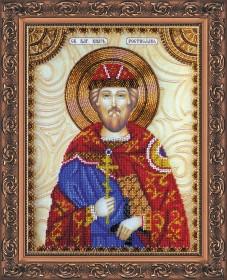 Набор для вышивки бисером Святой Ростислав
