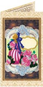 Набор - открытка для вышивки бисером Подарок для любимой
