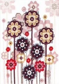 Набор для вышивки в смешанной технике Легкость бытия , , 195.00грн., ВТ-1017, Cristal Art, Схемы и наборы для вышивки бисером по Фен шуй