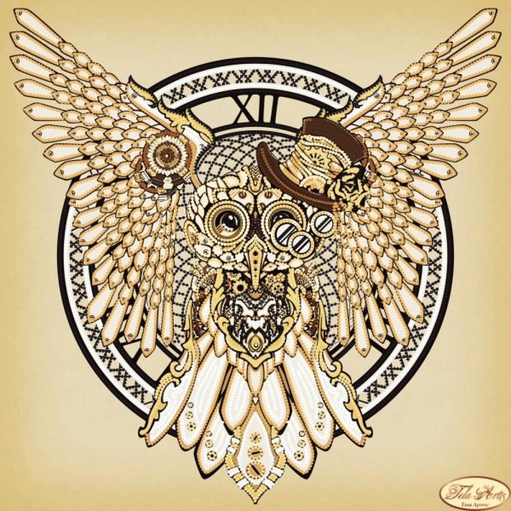 схема вышивки золотой дракон