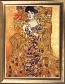 Набор для вышивки бисером Золотая Адель (по мотивам Г. Климта)
