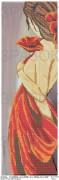 Схема вышивки бисером на атласе Панно Мечты