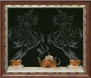 Набор для вышивки крестом Чайная фантазия - балет 1