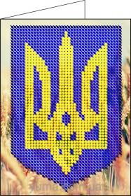Схема вышивки бисером на атласе Обложка для паспорта, , 36.00грн., ЮМА-Д2, Юма, Обложки на паспорта