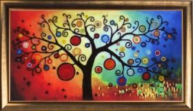 Набор для вышивки бисером Дерево богатства, , 238.00грн., 367Б, Баттерфляй (Butterfly), Схемы и наборы для вышивки бисером по Фен шуй