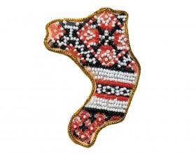 Набор - магнит для вышивки бисером Ровенская Область, , 49.00грн., АМК-017, Абрис Арт, Украина