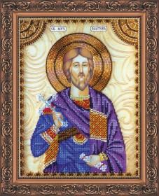 Набор для вышивки бисером Святой Платон